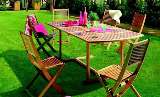 Table bois mr bricolage - Table de jardin extensible mr bricolage ...